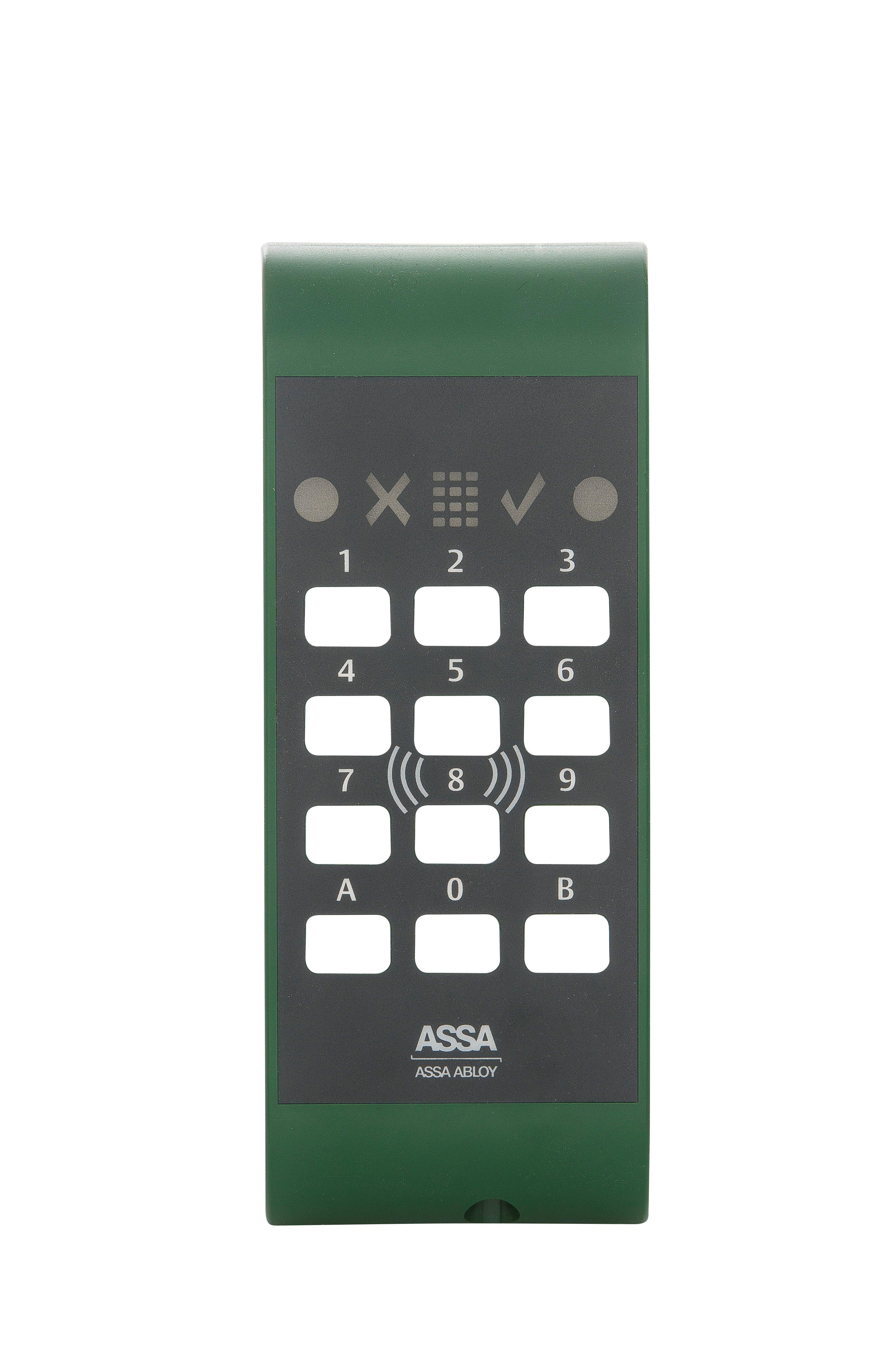 Pando Secure skal, grönt
