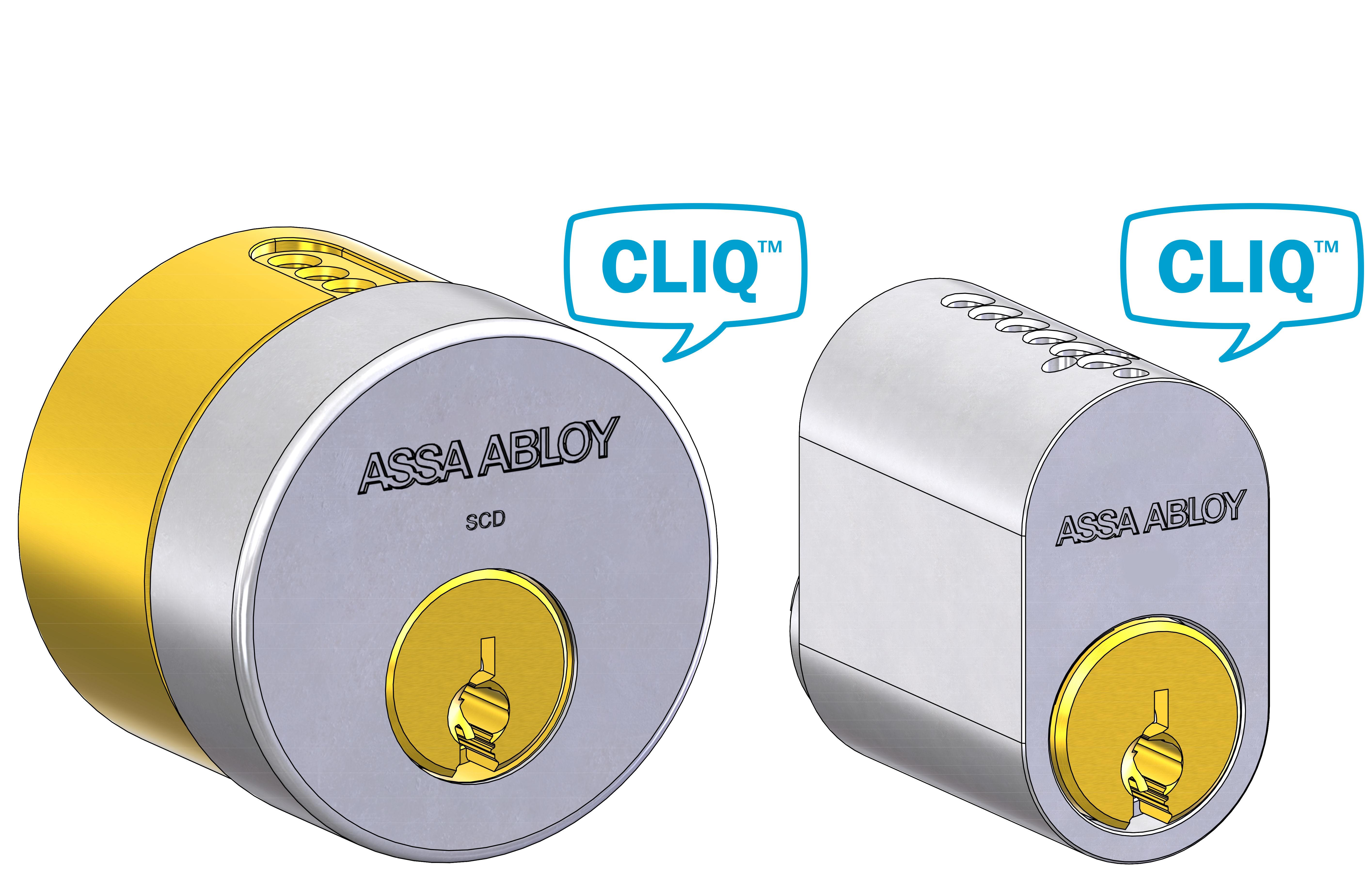 CLIQ® Remote Högsäkerhetscylindrar