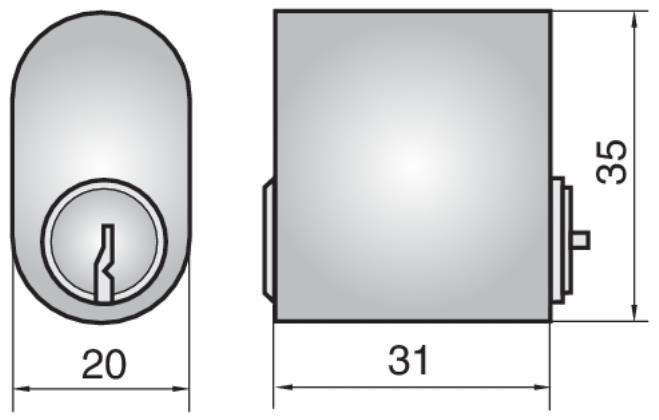 P601 - Single Cylinder (Outside)