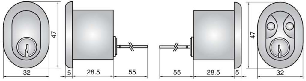 4408 - Double rim cylinder
