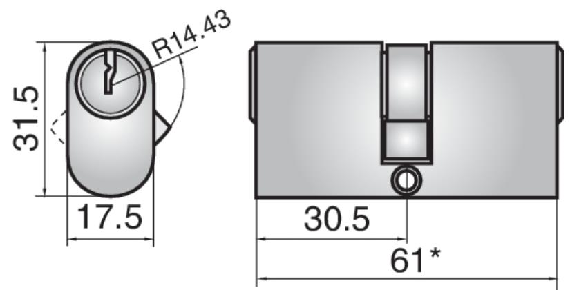 4432 - Double cylinder