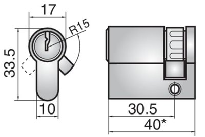 44M23 - Single cylinder