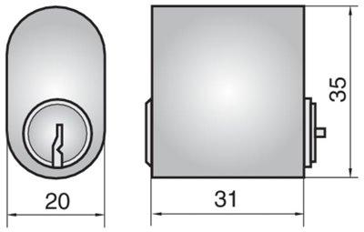 2401 - Single cylinder (outside)