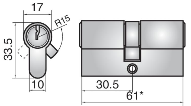 24M22 - Double cylinder