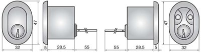 P608 - Double Rim Cylinder