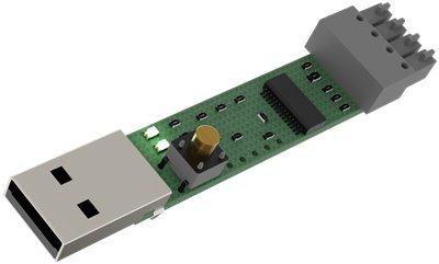Enhet för uppgradering av firmware, Power delen